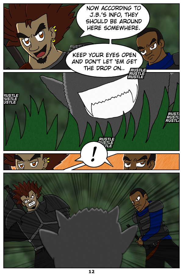 Page 12: Beware of Monsters